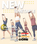 NEW WEDNESDAY EVENING CLASS SCHEDULE, OUT ON WEDNESDAY 4/08/2021!